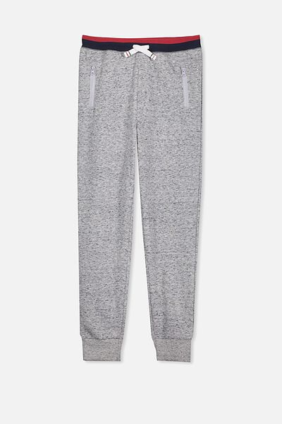 Archie Trackpant, NEP GREY MARLE/NAVY