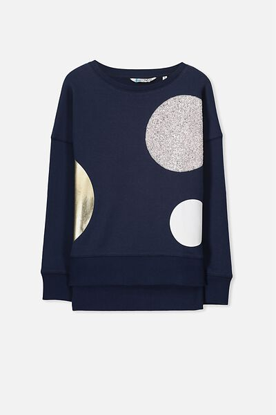Carrie Crew, OBRIEN BLUE/LUXE CIRCLES