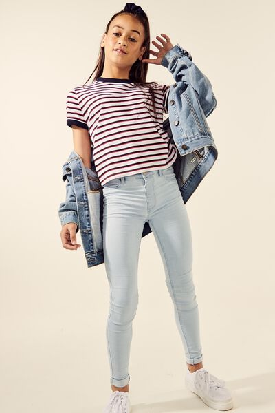 Jegging, BLEACH BLUE
