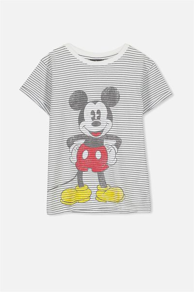 Lucy Licence Tee, STRIPE/DREAMING MICKEY