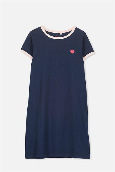 Darci Dress, OBRIEN BLUE/COOL TO BE KIND