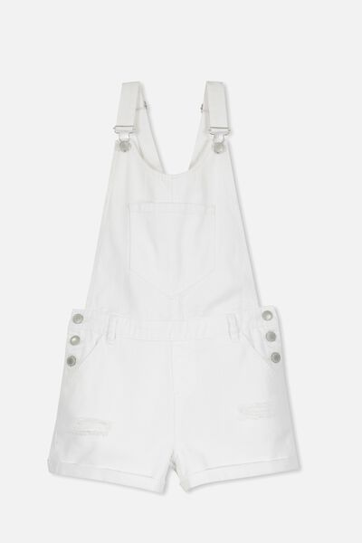 Dixie Denim Shortall, WHITE2