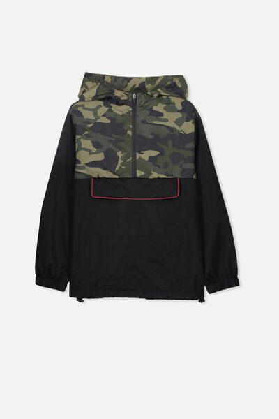 Spray Jacket, CAMO/BLACK ZIP
