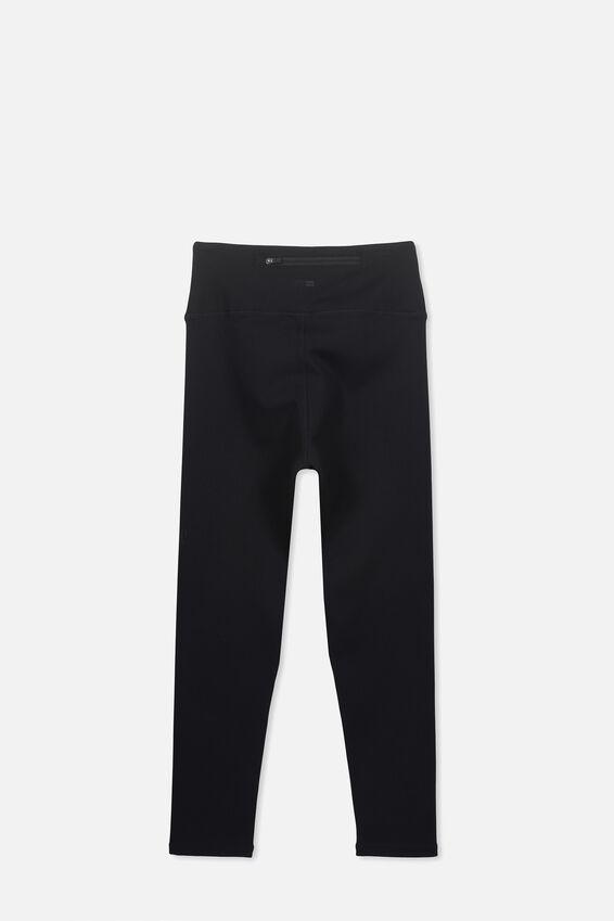 Core 7/8 Legging, BLACK