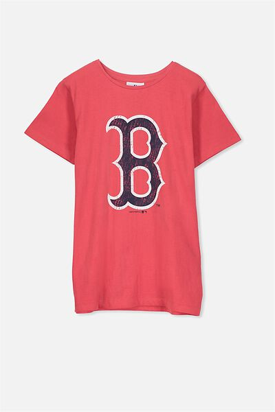 Louis Licence Tee, RED/BOSTON RED SOX