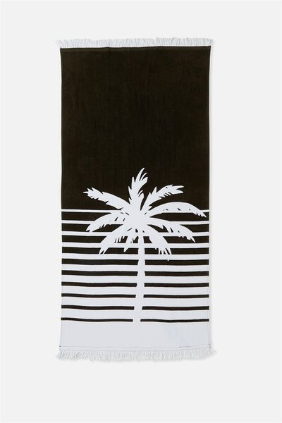 My Beach Towel, WHITE PALM