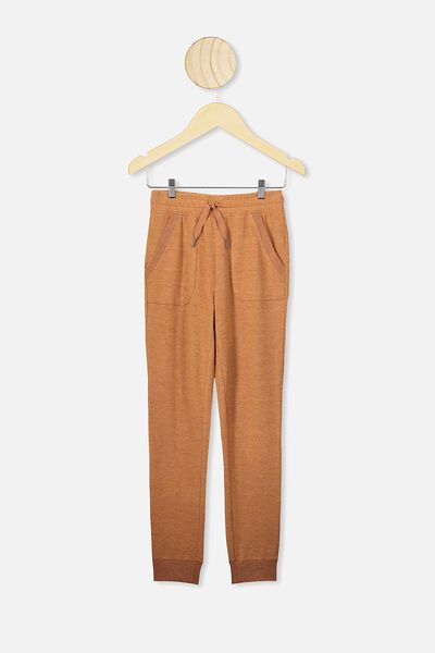 Super Soft Trackpant, AMBER BROWN
