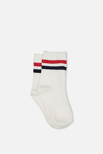 Free Fashion Socks, SPORTS STRIPE
