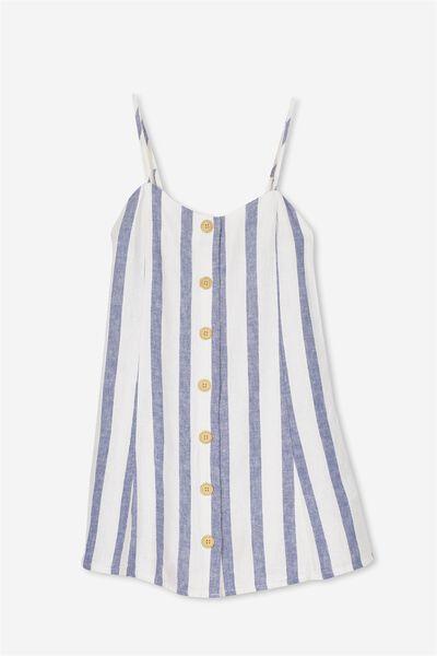 Pheobe Dress, TRUE NAVY/STRIPE