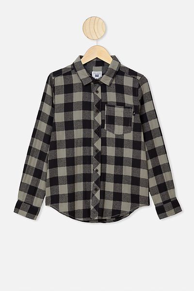 Rocky Shirt, SILVER SAGE/PHANTOM BUFFALO