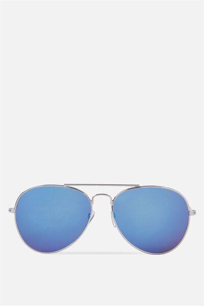 My Pilot Sunnies, SILVERY BLUE