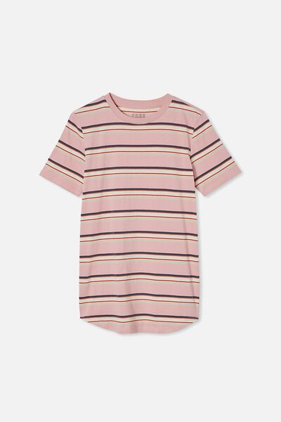 Free Boys Long Line Tee, ZEPHYR /FASHION STRIPE