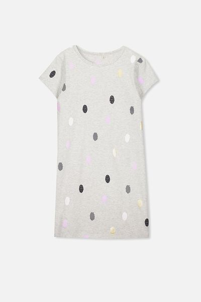 Darci Dress, SOFT GREY MARLE/MISH MASH