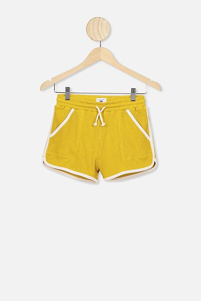 Nora Knit Short, KEEN AS MUSTARD/DARK VANILLA