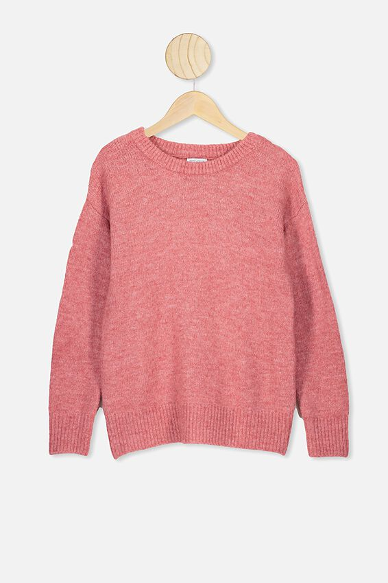 Sage Pullover, FADED ROSE MARLE