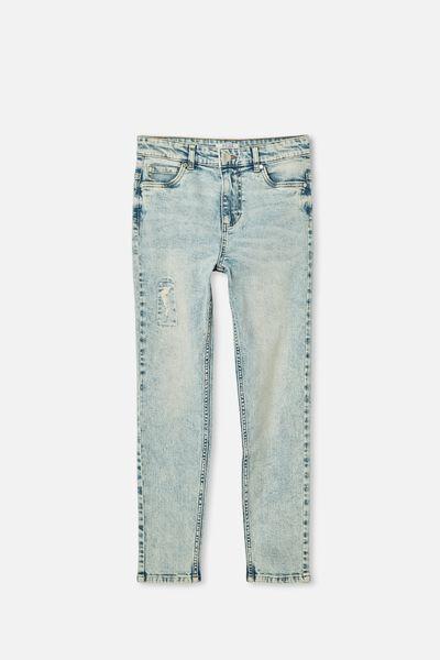 Slim Leg Jean, UTAH LT BLUE WASH