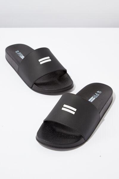 Equal Slide, BLACK