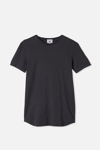 Free Boys Long Line Tee, PHANTOM