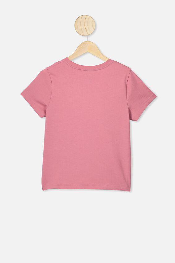 Girls Classic T-Shirt, VERY BERRY SPIRIT MOTH