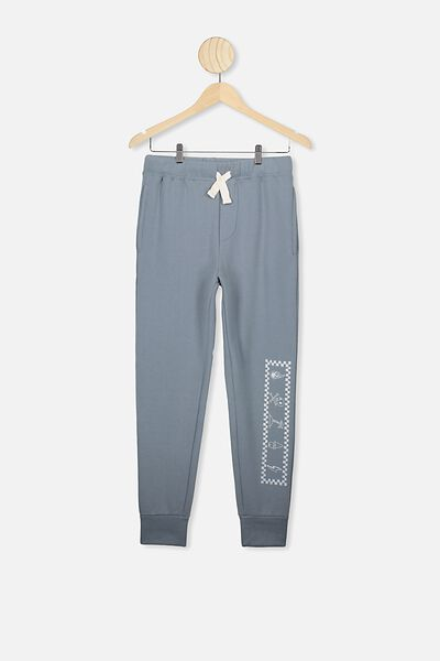 Todd Trackpant, DEEP POOL BLUE/WORKLESS