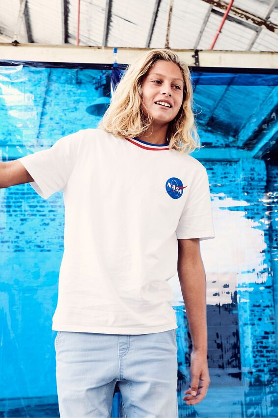 Boys License Short Sleeve Tee by Cotton On