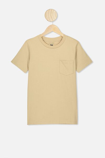 Free Core Short Sleeve Tee, SEMOLINA