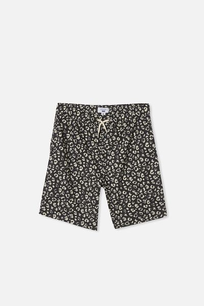 Boys Volly Short, LEOPARD PRINT/PHANTOM