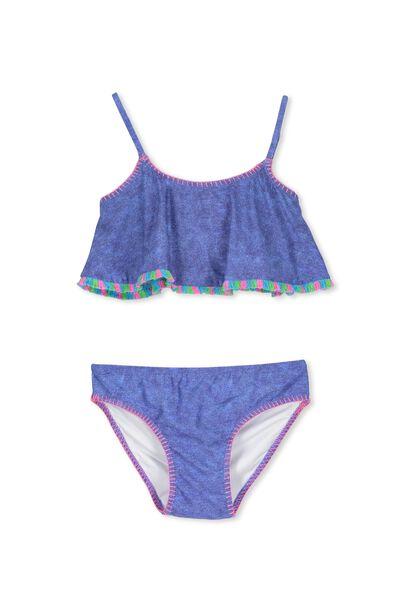 Flo Bikini, DENIM LOOK/MEXI EMBROIDERY