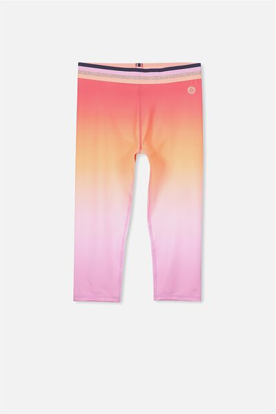 Free Active Capri, WASHED  LILAC GRADIENT