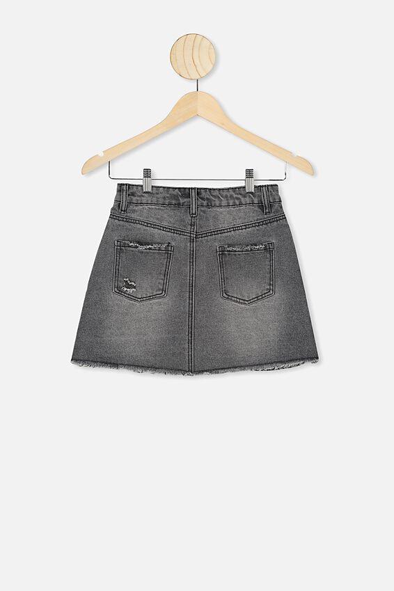 Florence Skirt, GREY WASH
