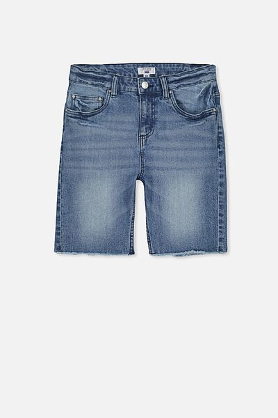 Classic Denim Short, MID BLUE
