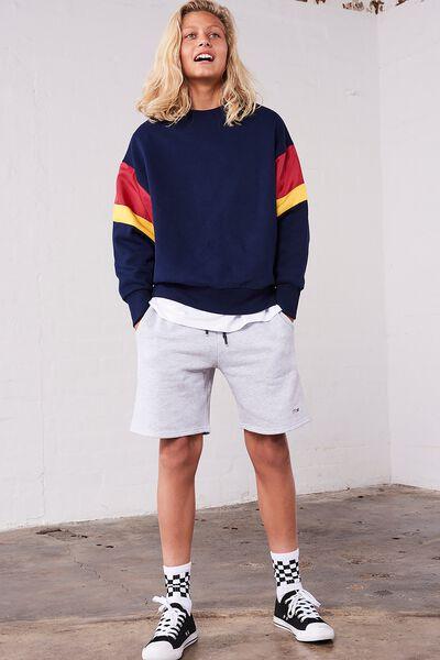 Sport Knit Short, SOFT GREY MARLE
