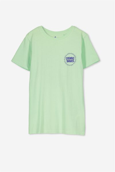 Ollie Ss Tee, LIME FIZZ/COSMIC WAVES