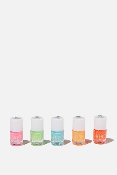 My Nail Polish 5 Pack, BRIGHTS