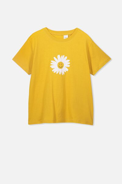 Bonnie Sleep Tee, GOLD RUSH/STARS