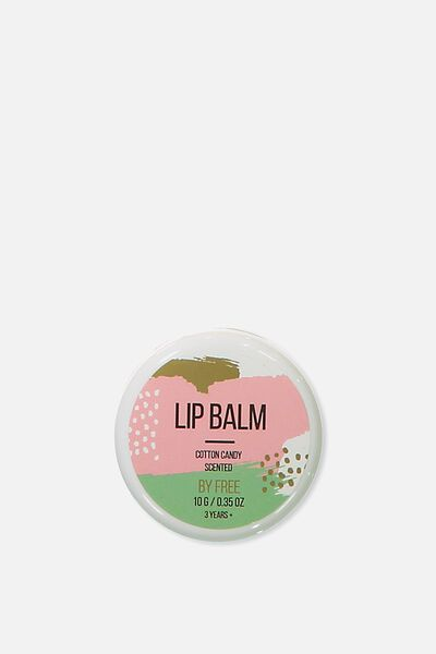 Lip Balm In A Pot, COTTON CANDY