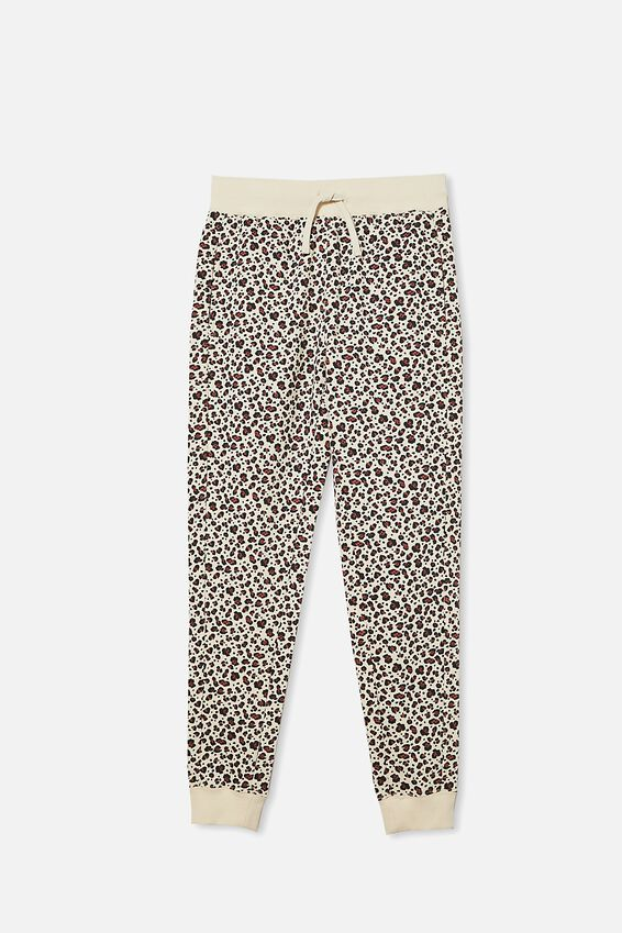 Girls Trackie, DARK VANILLA SNOW LEOPARD