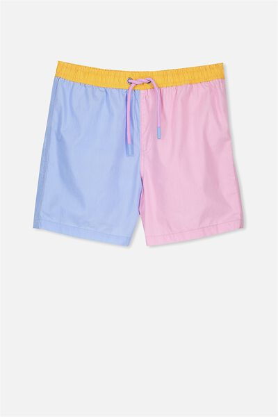 Pool Short, ICY LAVENDER/BUTTERFLY BLUE