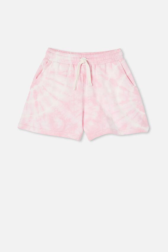 Bella Knit Short, CALI PINK TIE DYE