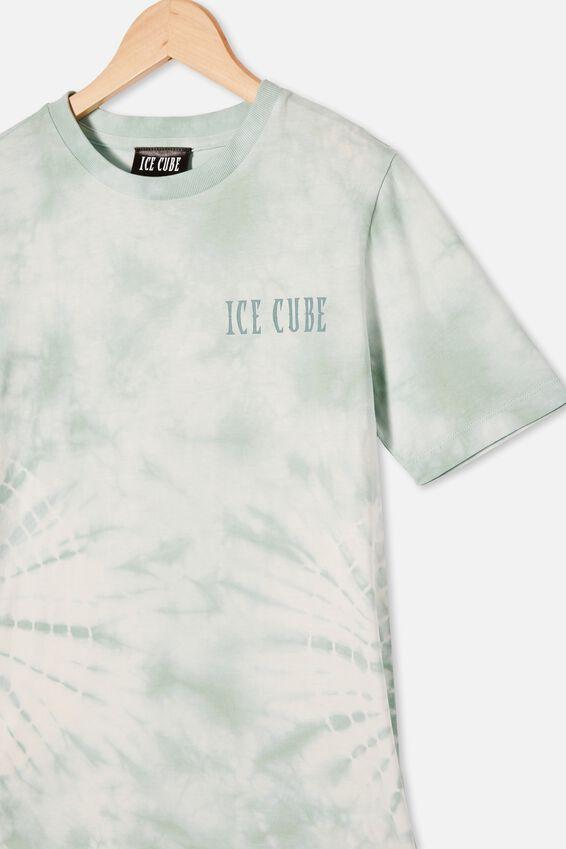 Co-Lab Free Tee, LCN MT DUCK EGG TIE DYE / ICE CUBE