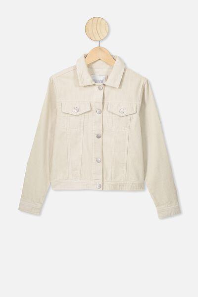 Tiffany Cord Jacket, ECRU CORD