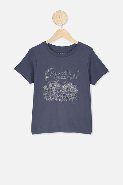 Primrose Classic Tshirt, VINTAGE NAY/STAY WILD MOON CHILD