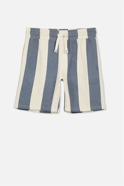 Game Knit Short, VERTICAL THICK STRIPE