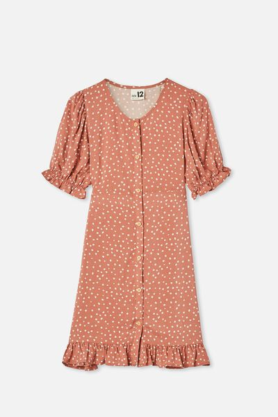 Malu Short Sleeve Dress, CHUTNEY MINI DITSY