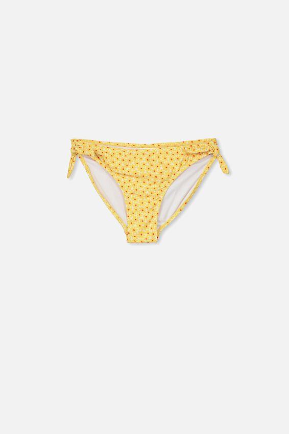 Bikini Bottom, WHITE/YELLOW DAISY POP