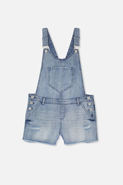 Dixie Denim Shortall, SPRING INDIGO