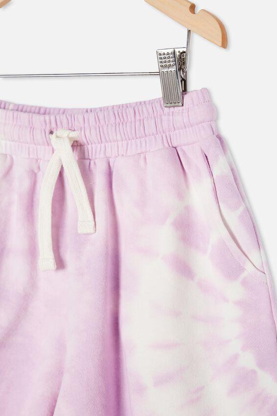 Bella Knit Short, PALE VIOLET TIE DYE