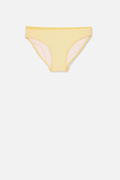 Leah Bikini Bottom, ORANGE STRIPE