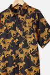 Kip&Co Teen Short Sleeve Shirt, LCN KIP CHEETAH