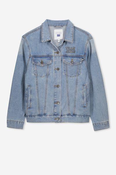 Equal Denim Jacket Personalised, ORGINAL WASH PERSONALISED